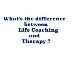 difference between therapy and life coaching?