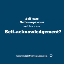 self-acknowledgement
